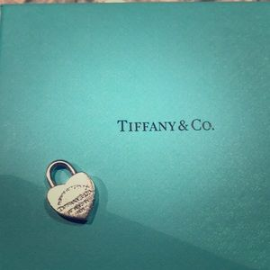 Tiffany heart locket real sterling silver